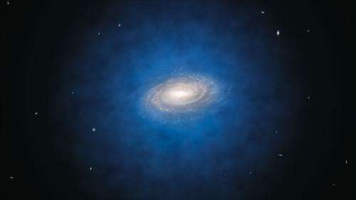 Dark matter half what we thought, say scientists