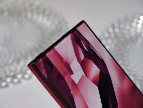 Sharp Aquos Crystal phone: Where's the bezel?