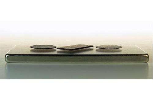 Diamagnetic levitation of pyrolitic graphite over a single magnet  achieved