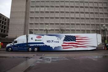 DOE SuperTruck utilizes exhaust technology to boost fuel economy
