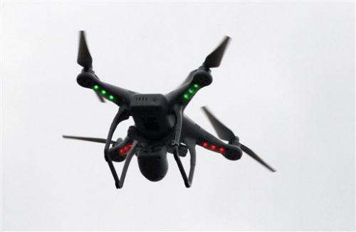 Drones left out of air traffic plans