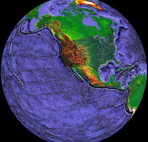 New evidence for oceans of water deep in the Earth