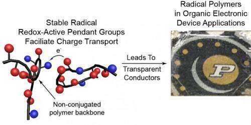 Electrically conductive plastics promising for batteries, solar cells