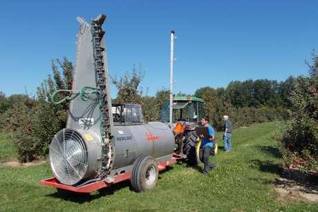 Engineer designs digital solution for pesticide drift