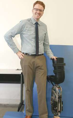 Engineer uses robot theory to improve prosthetics
