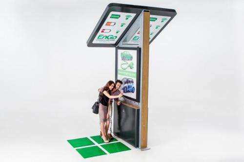 EnGo public charging station serves university students