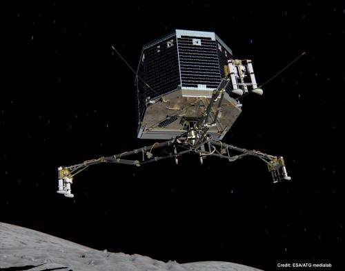 ESA's Rosetta mission sets November 12th as the landing date for Philae