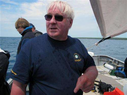 Explorer says Griffin shipwreck may be found