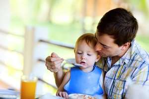 Fathers Can Lower Their Children's Risk of Going Hungry by Staying Involved