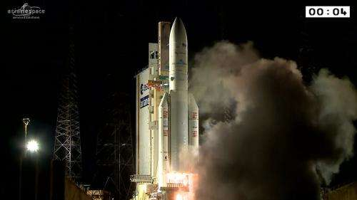 Fifth launch for Ariane 5 this year