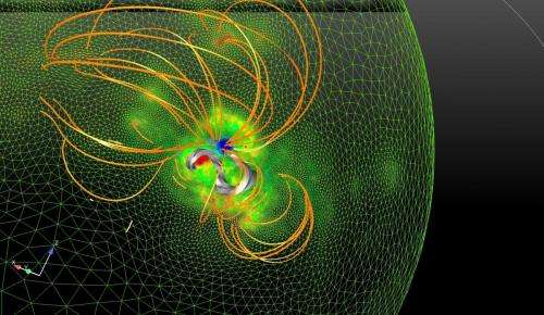 'Twisted rope' clue to dangerous solar storms