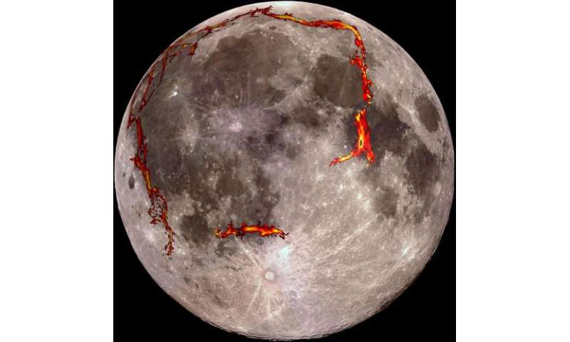 Solving the mystery of the 'man in the moon': Volcanic plume, not an asteroid, likely created the moon's largest basin