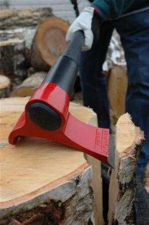 Finnish inventor rethinks design of the axe