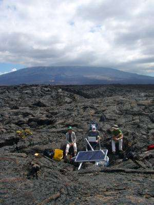 First-ever 3D image created of the structure beneath Sierra Negra volcano