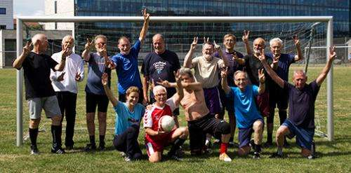 Football improves strength in men with prostate cancer