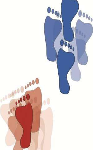 By watching people walk, researchers decode the foot position's role in maintaining balance