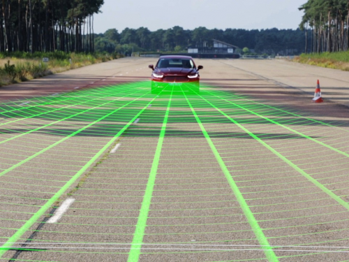 Ford pre-collision assist with pedestrian detection technology may help drivers avoid some frontal crashes