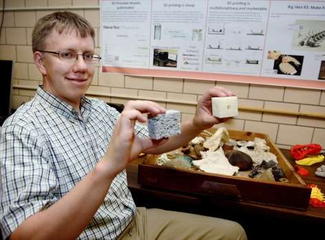 GeoFabLab prints 3-D rocks and fossils, advances geoscience research, education
