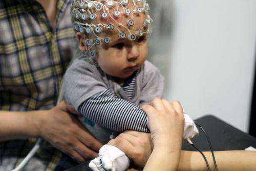 A 'hands-on' approach could help babies develop spatial awareness