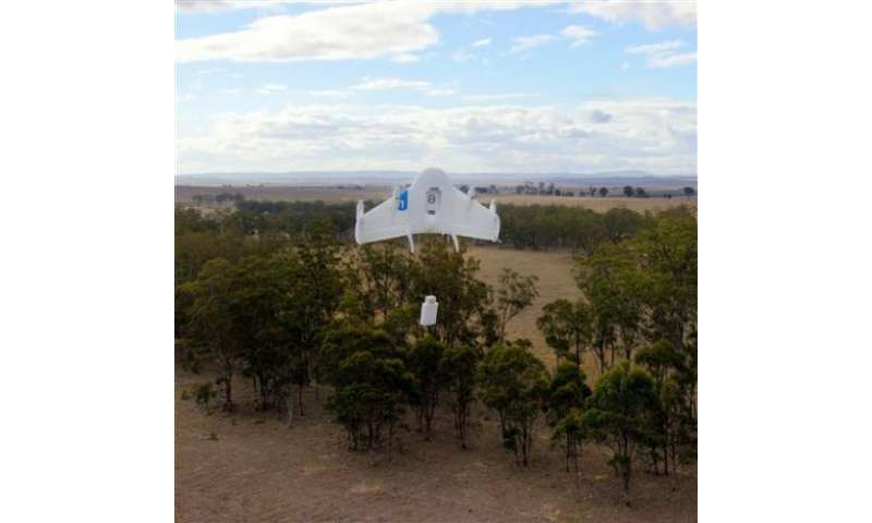 Google building fleet of package-delivering drones