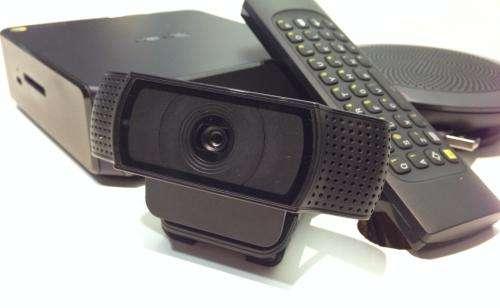 Google unveils box for business videoconferences
