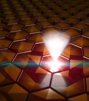 Scientists find stronger 3-D material that behaves like graphene