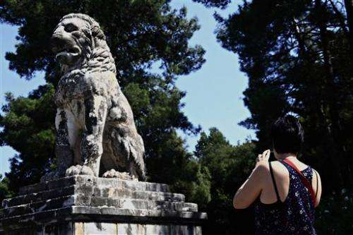 Greek PM says important tomb found in northern dig