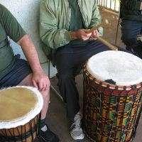 Group-based drumming program improves mental health of prisoners