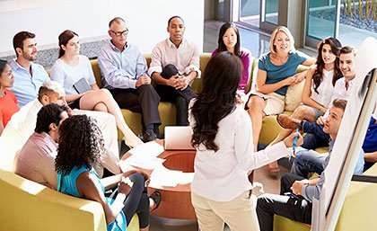 Workplace leaders improve employee wellbeing