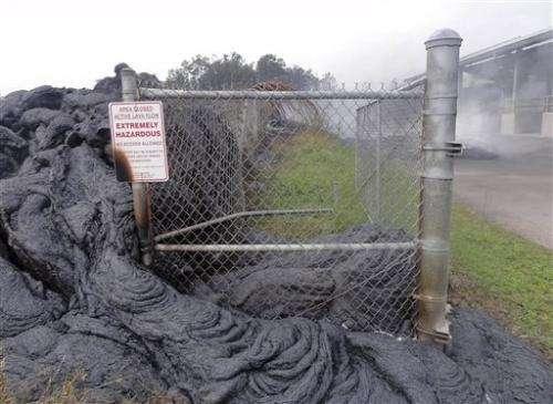 Hawaii lava flow inspires student innovation