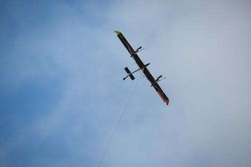 High-altitude wind turbines have potential to generate large amounts of electricity
