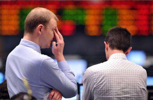 High stressed traders more risk averse, study finds