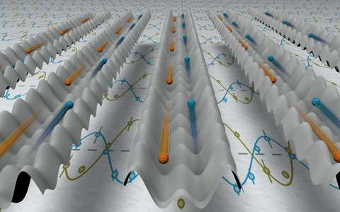Highway for ultracold atoms in light crystals