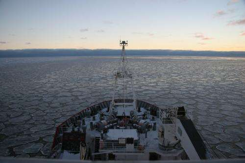 How wind helps Antarctic sea ice grow, even as the Arctic melts