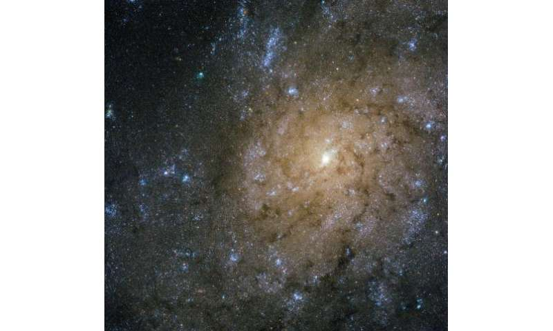 Hubble finds jets and explosions in NGC 7793
