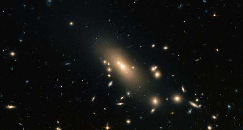 Hubble reveals a super-rich galactic neighborhood