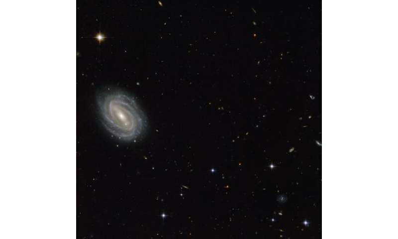 Hubble Sees Spiral in Serpens