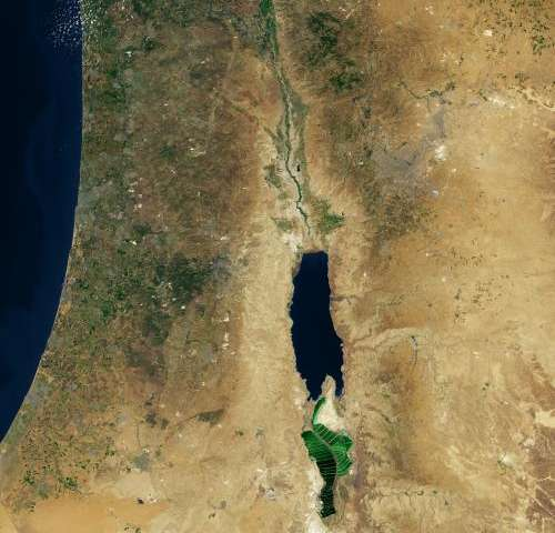 Image: Dead Sea, Middle East