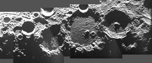Image: ESA's SMART-1 revealing unknown regions of the moon