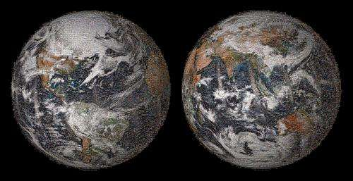 """Image: NASA releases Earth Day """"global selfie"""" mosaic of our home planet"""