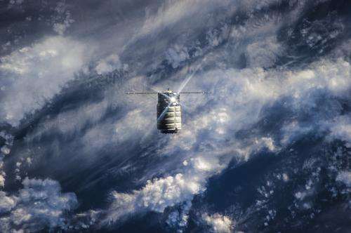 Image: Orbital Science's commercial spacecraft Cygnus-1