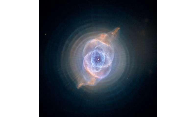 Image: The Cat's Eye Nebula (NGC 6543)