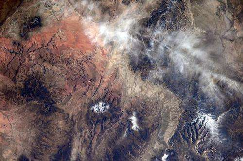 Image: Yellowstone viewed from the International Space Station