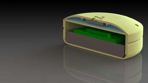 In orbit or on Earth, implantable device will be commanded to release therapeutic drugs remotely