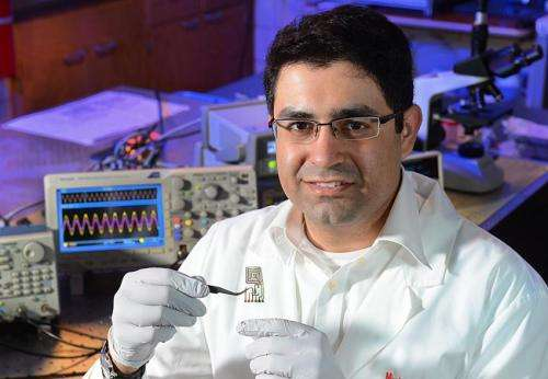 Iowa State scientist developing materials, electronics that dissolve when triggered
