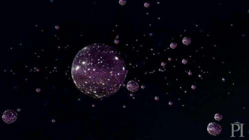 Is the universe a bubble? Let's check