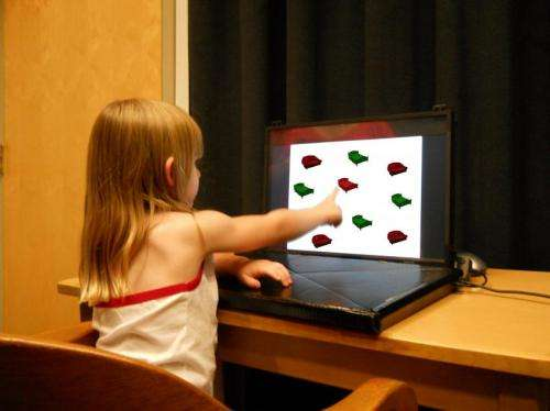 IU cognitive scientists use 'I spy' to show spoken language helps direct children's eyes