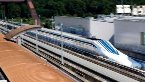 Japanese railway offers taste of 500kph maglev ride to selected audience
