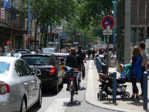 Research project focuses on the interaction between cyclists and drivers