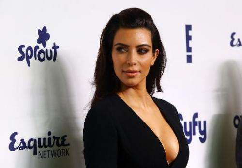 Kim Kardashian attends an event in New York City on May 15, 2014